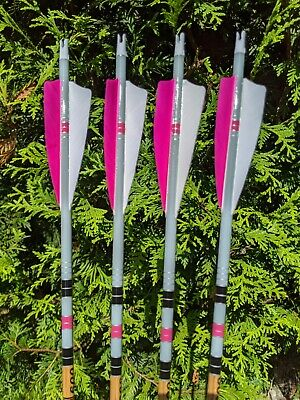 """Gold Tip Arrows Traditional 7595//300 5575//400 3555//500 340 6pk 4/"""" Feathers"""