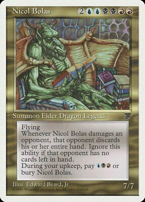 Nicol bolas Masters 25 NM Blue Black Red Rare MAGIC GATHERING CARD ABUGames