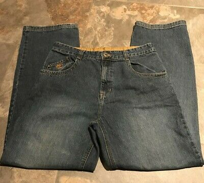Timberland Youth Boys Blue Carpenter Jeans Size 20 32 x 30 Relaxed Fit