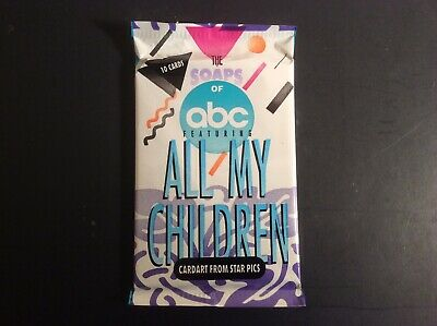 1991 Soaps of ABC//All Children Trading Card Sealed Box