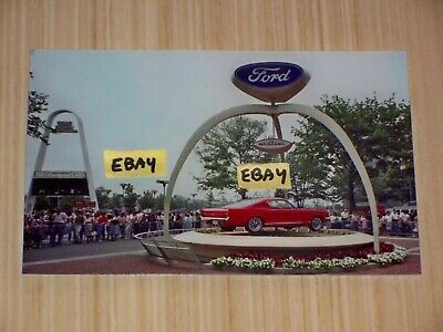 #pha.030853 Photo FORD MUSTANG ASSEMBLY LINE 1965 Car Auto