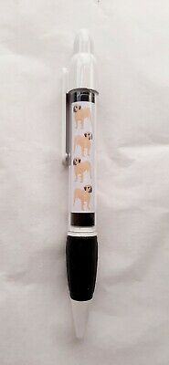 Bearded Collie Retractable Ball Pen by Curiosity Crafts
