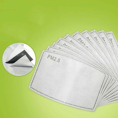 Pm2.5 X 20 PPE Filter Adults Carbon Filter PM 2.5 International Delivery Service