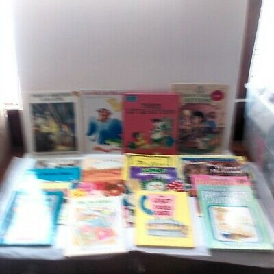 Story Time Assorted Bundle / Lot of 20 Vintage Story Books for Kids/Toddlers