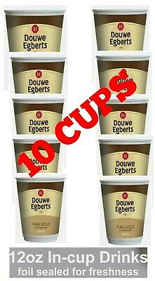 150 x Bovril Beefy Drink Ready Cup just Pour hot water 12oz 10x150.