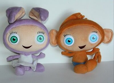 Waybuloo Peeka Lau Lau And Yojojo Wiggle Ears Talking Soft Toys Peek A Boo Ears 9 99 Picclick Uk
