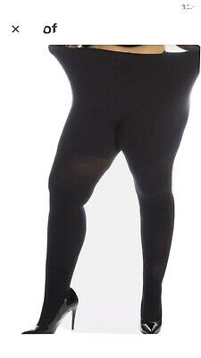 All Woman Tights 180-Denier Large Thick Warn Plus-Size XXL Tall Long