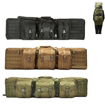 """36/42"""" Heavy Duty Tactical Carbine Rifle Bags Gun Case Storage Hunting Backpack"""