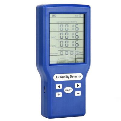 Smart Detection Combustible Gas Monitor LCD Display High Sensitivity