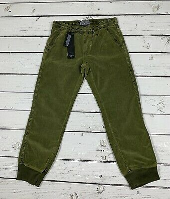 STONE ISLAND Junior Green Cuffed Jeans - Joggers Age 7 New With Tags