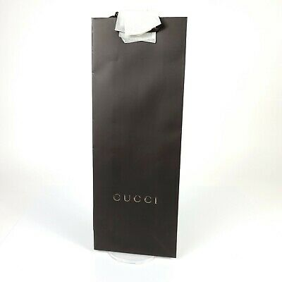 AUTHENTIC GUCCI SHOPPING PAPER LOGO GIFT BAG 16