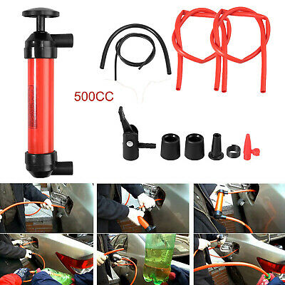 Manual Car Fuel Oil Fluid Suction Vacuum Extractor Transfer Siphoning Pump Kit