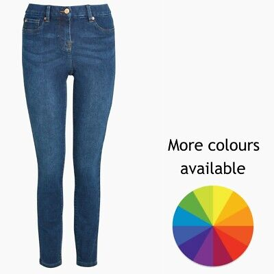 Ladies Next Skinny Jeggings Jeans Blue Sizes 6 - 22 RRP £25 CURRENT LINES