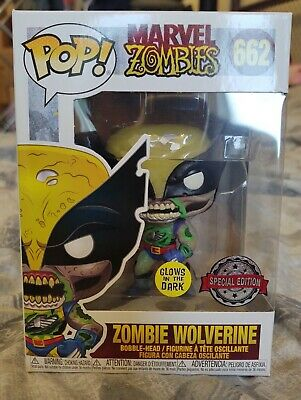 Zombie Wolverine GITD #997 EE Sticker Funko Pop Marvel Zombies