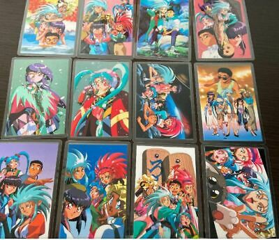 Tenchi Muyo Laminated card 12 sheets Bulk sale vintage from Japan Excellent Rare