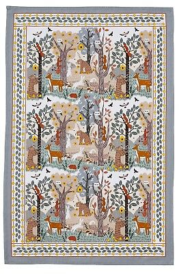 "/""Bountiful Floral"" Ulster Weavers Pure cotton printed tea towel."
