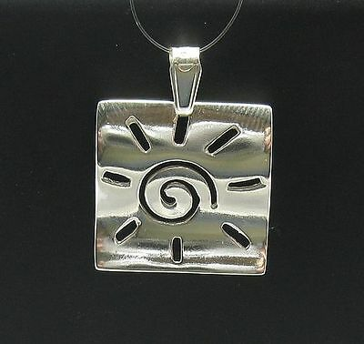 Genuine sterling silver pendant charm solid hallmarked 925 Boot PE001378