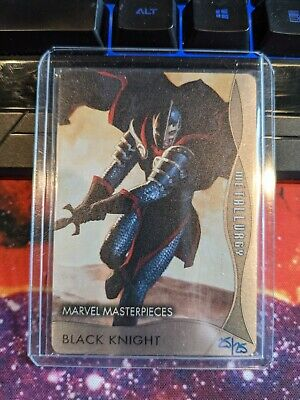 1999 #21 Black Knight Marvel Masterpieces 2020 Base Card