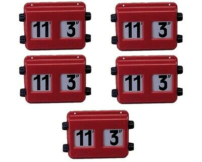 """*IMPERIAL HEIGHT INDICATOR 10/"""" TO 17/"""" FOR TRUCK /& TRAILER LCV CV BUS BP76-045"""
