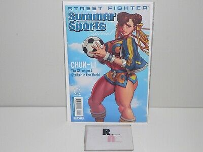 STREET FIGHTER SUMMER SPORTS SPECIAL 2018 NM CHUN-LI COVER UDON Never Open.
