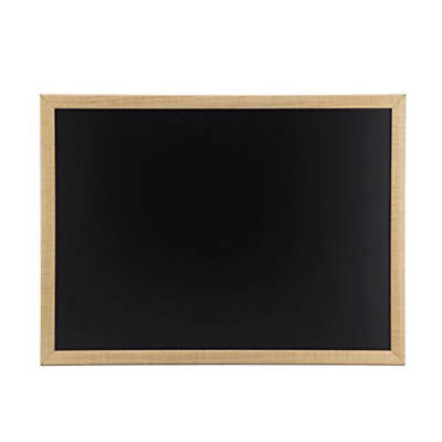 Chalkboard 23 x 17 Inches Oak Frame for home office classroom chalk markers
