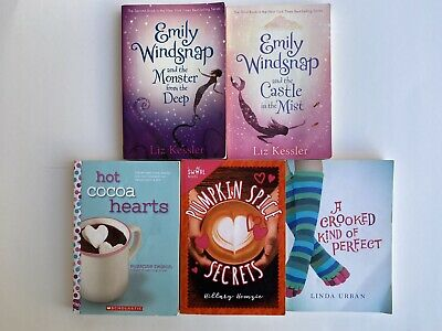 LOT of 5 Girls Early Readers Youth Chapter Books Fantasy Fiction Variety