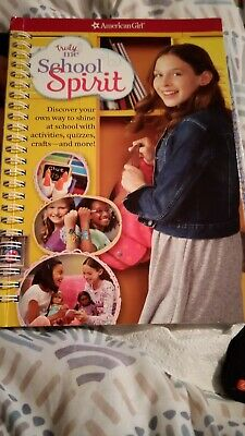 American Girl Truly Me Book SHINE BRIGHT Spiral Bound Activity Book NEW