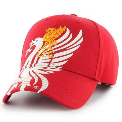 LIVERPOOL FC RED COLOUR ADULT MENS BASEBALL CAP HAT ONE SIZE NEW XMAS GIFT
