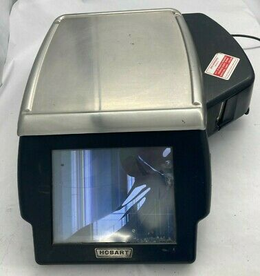 Hobart HLXWM Touchscreen POS Deli Scale w/Power Cord For Parts/Not Working