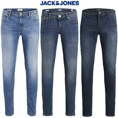 Jack & Jones Boys Jeans Junior Kids Jr Blue Denim Skinny Fit Age 8 - 16 Year