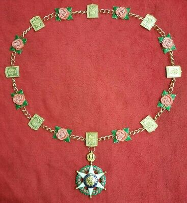 Austria Hungary Order Of The Golden Fleece With Chain 480 00 Picclick