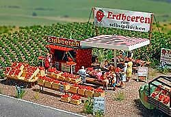 Asparagus Sales Stand HO Scale Accessories 1074 Kit
