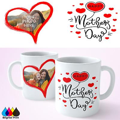 Personalised Mothers Day Mug Coffee Tea Cup Photo Mug Gift Present Mothers Day