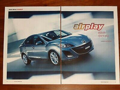 Mazda 3 Magazine Article Motor Trend First Drive Bold New Look Not Just Style