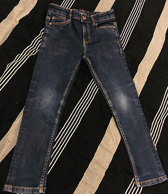 Boys Skinny Jeans By Next Age 8 Years Denim Blue Excellent Condition *BARGAIN*