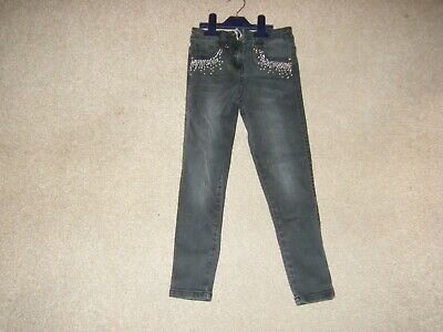 Girls Black Jeans Age 6-7 Years from George