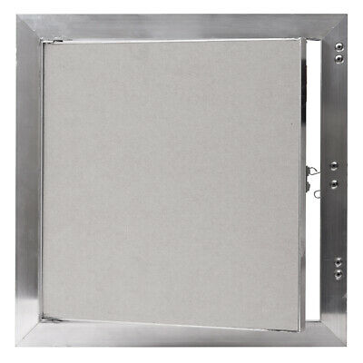 Plasterboard Inspection Hatch 200mm x 200mm with Aluminum Frame Concealed Latch