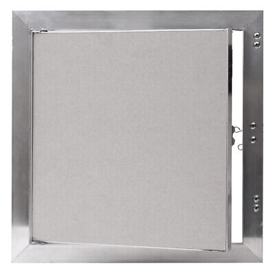 Plasterboard Inspection Hatch 500mm x 500mm with Aluminum Frame Concealed Latch