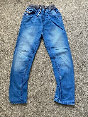 Next - Boys Mid Blue Pull On Jeans -11 Years