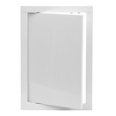 White Access Panel 200mm x 250mm ABS Plastic Inspection Door Revision Hatch Flap