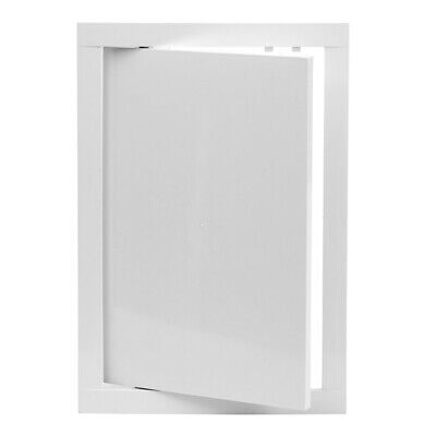 White Access Panel 200mm x 300mm ABS Plastic Inspection Door Revision Hatch Flap