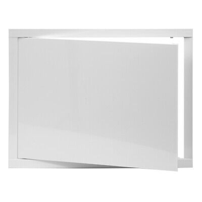 White Access Panel 400mm x 300mm ABS Plastic Inspection Door Revision Hatch Flap