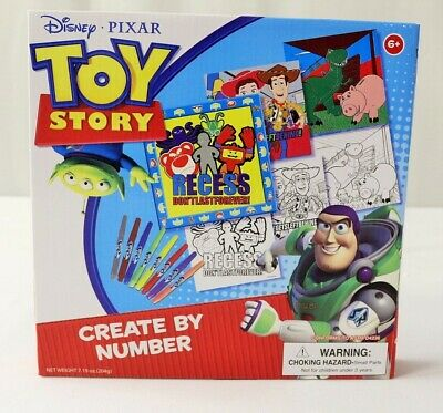 Disney Toy story Creative Fun Create By Numbers
