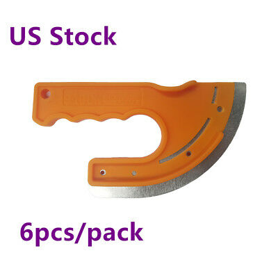 US Stock, 6 pcs/pack, Fabric Graphic Installation Knife (Professional Type)