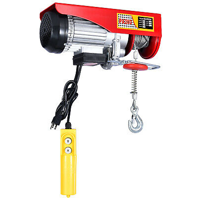 100-200kg Electric Wire Cable Hoist Overhead Crane Lift with Remote Control 480W
