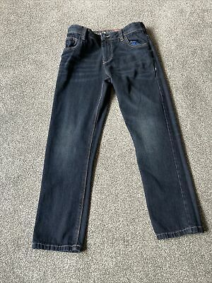Next Boys Regular Dark Denim 11 Plus Jeans Button Fly new without tags