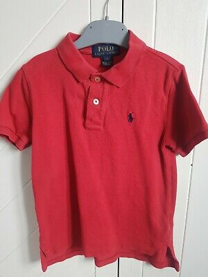 Ralph Lauren Boys Polo Shirt Size 5