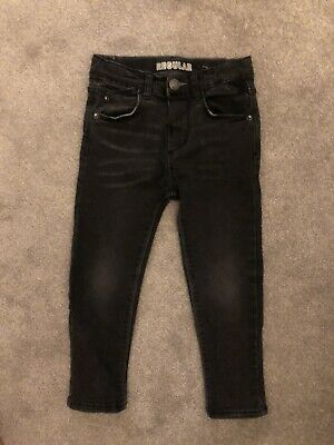 Zara Boys Black Regular Skinny Jeans  3-4 Years