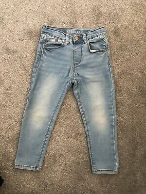 Zara Boys Regular Skinny Jeans Age 3-4 Years