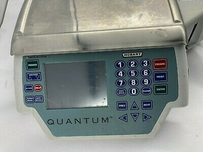 Hobart Quantum QMAX 29252-BJ Deli Scale Printer for Parts Only Sold As Is